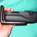 Nikon MB-D12 vertical grip with L bracket installed
