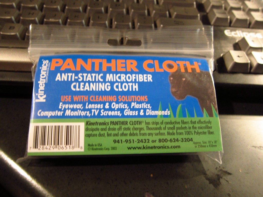 Kinetronics Panther cloth in package