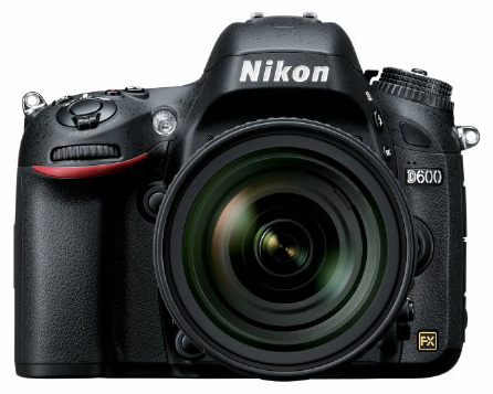 Nikon-D600 view from the front