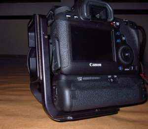Canon 6D with RRS 5D MKII L bracket attached