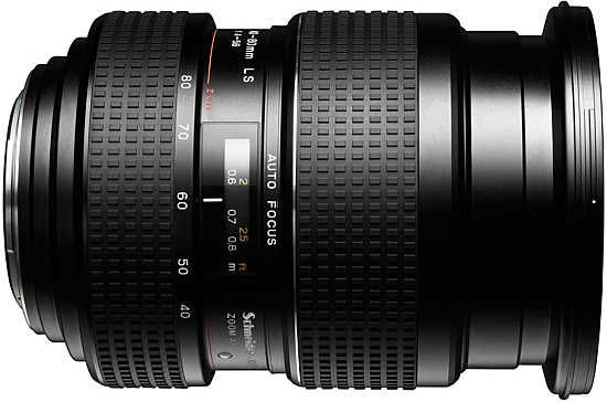 Phase One zoom lens