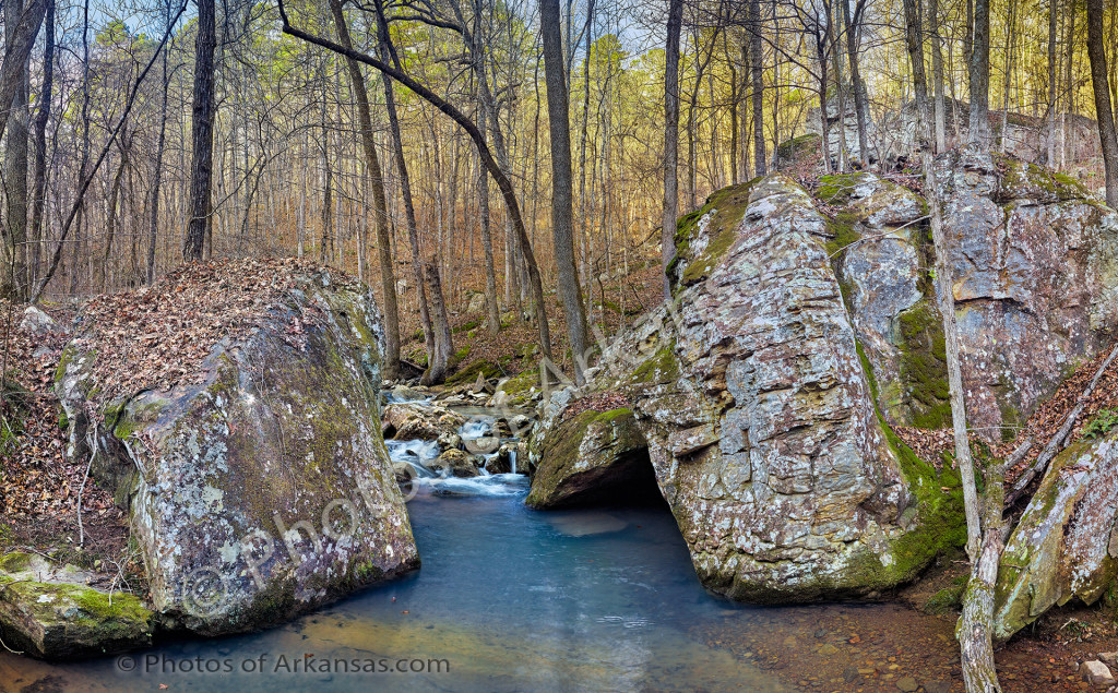 White Oak Mountain creeks
